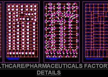 Pharmaceutical Factory layout and structure