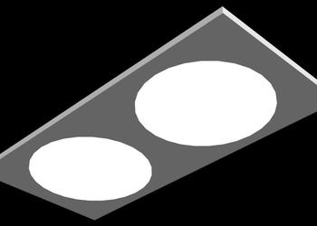 Recessed Ceiling Light Fixture 3d