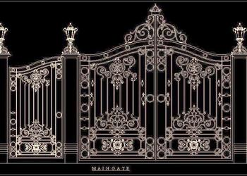 Beautiful Main Gate