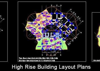 High Rise Building Tower Layouts