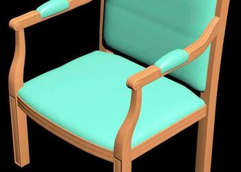 Dining Chair 3d View