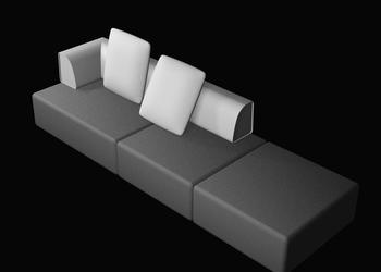 Chaise Lounge Sofa 3d Model