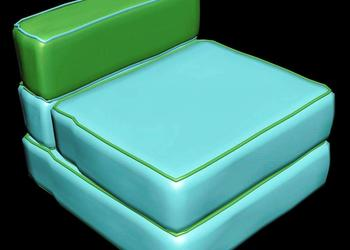 Sofa Design 3d view