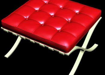 Chesterfield Bench 3d