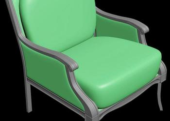 Classical Chair 3d Design