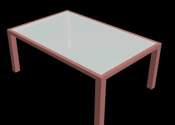 Simple Centre Table 3d Model