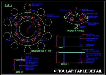 Big Circular Table