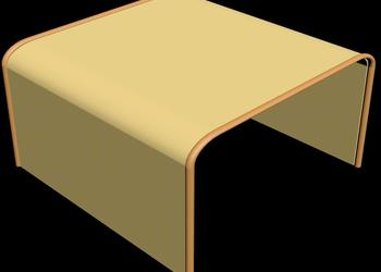 Modern Side Table 3d Model