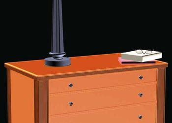 Night Stand 3d Model Design