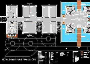 Hotel Lobby Furniture Layout