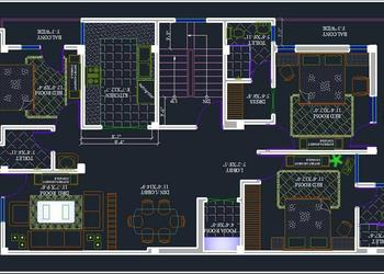 3 bhk apartment space planning