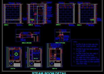 Steam Room Design detail