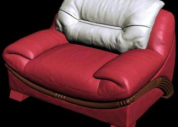 Sofa Armchair 3d design