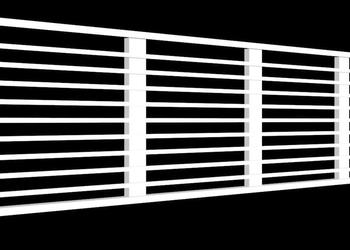 Air Conditioning Grill in 3d View