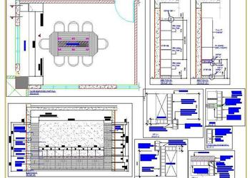 Meeting Room Design DWG Drawing Detail