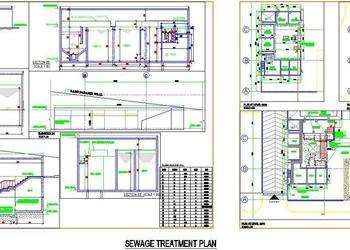 Sewage Treatment Construction Detail