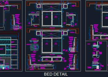 Double Bed Construction Detail