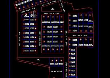 Residential Plotted Colony Layout Plan