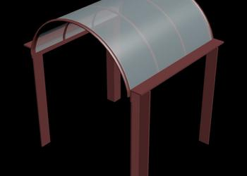 Entry Gazebo 3d view