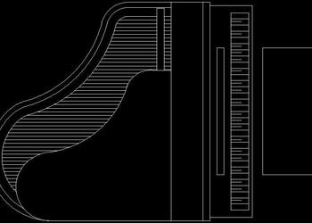 Piano Cad Block