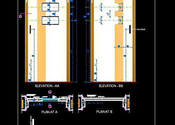 Designer Flush Door Design