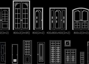 Various Door Block Designs