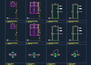 Door Window Basic Cad Drawing