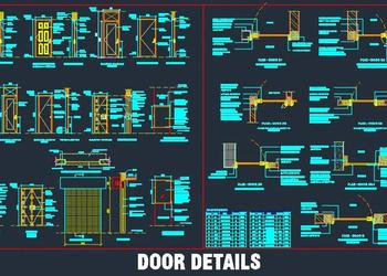 Various Door Designs and Construction Detail