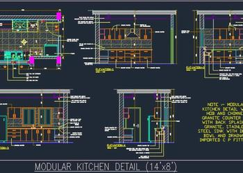 Kitchen Design Detail (14'x8')