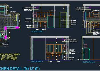 Kitchen Design Detail (9'x13'-6)