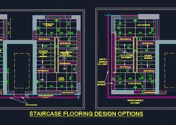 Staircase Flooring Design