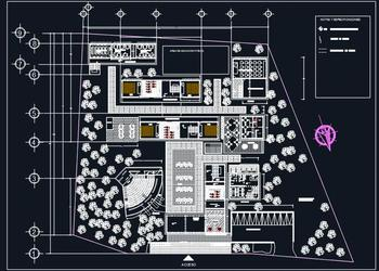 School Architectural Layout Design