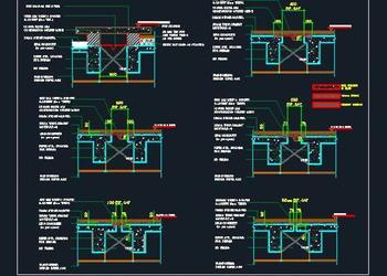 Vertical Expansion Joint Cad Detail