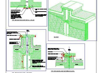 Expansion Separation Joint Cad Details