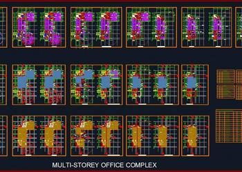 Office Plan and Electrical Layout - Autocad DWG | Plan n Design