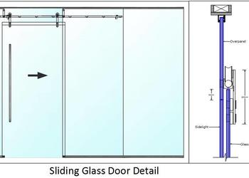 Sliding Glass Door Detail