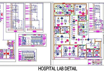Hospital Lab Area Detail Design