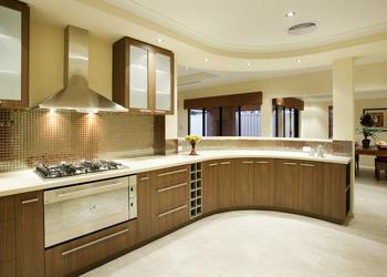 Modern Kitchen Design Ideas With Wooden Cabinets- Plan n Design