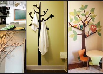 Stylish Tree Shaped Interior Feature, Ideas, Design & pictures- Plan n Design