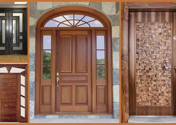 Top 50 Modern Wooden Main Door Designs for Home 2018- Plan N Design