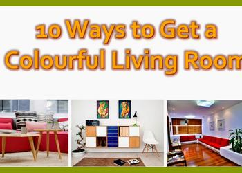 Adorable 10 Ways To get a Colourful Living Room- Plan n Design
