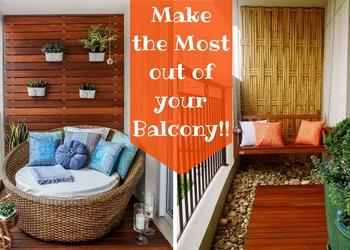 29 Creative Small Balcony Decorating Ideas- Plan n Design