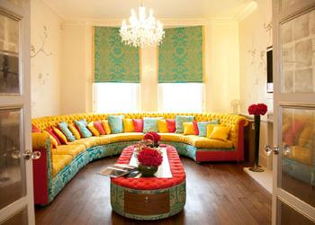 30 Refreshing, Bright, Colorful Interior Design Ideas- Plan n Design