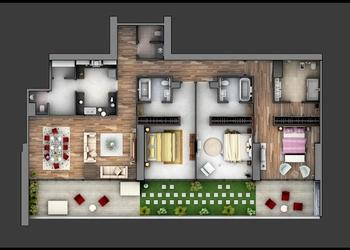 Modern 3 Bedroom House Space Planning & Layout Ideas- Plan n Design