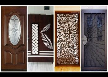 Top 42 Modern Front Door Designs catalogue 2018- Plan n Design