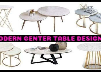 Top 50 Modern CENTER TABLE Designs for Living Room 2018- Plan N Design