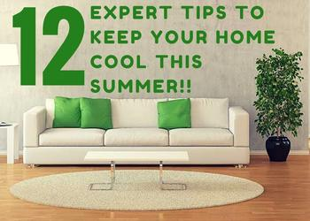 12 Expert Tips to Keep your Home Cool this Summer- Plan N Design