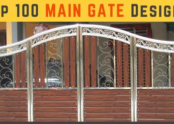 Top 100 MAIN GATE Designs for Modern Homes 2018- Plan N Design