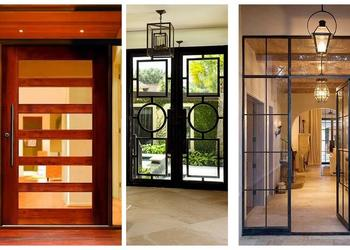 Beautiful Modern Wooden and Glass Door Designs- Plan N Design