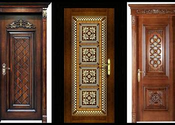 Top 35 Modern Wooden Carved Door Designs for Home 2018- Plan N Design